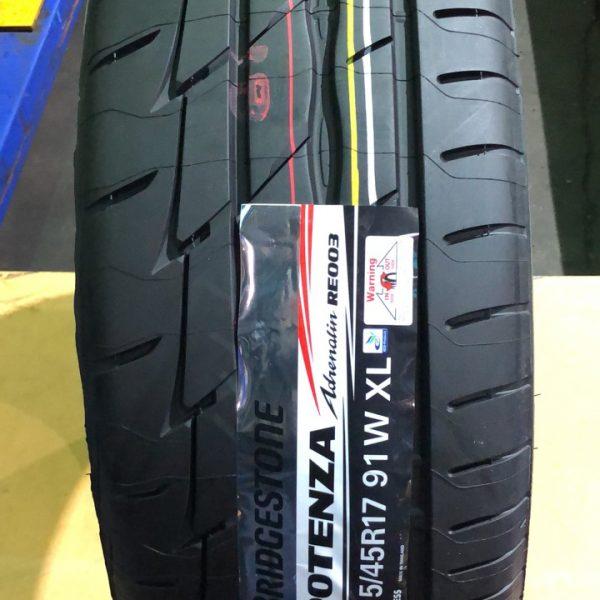 215-45-R17 91W Bridgestone Potenza