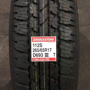 265-65-R17 112S Bridgestone