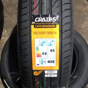215-55-R17 98W XL Cratos