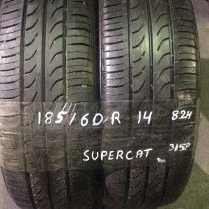 185-60-R14 82H Supercat 315P