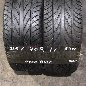 215-40-R17 87W Goodride 810P