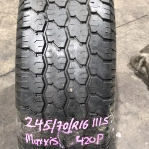 245-70-R16 111S Maxxis 420P