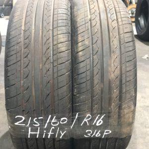 215-60-R16 95V Hifly 316P